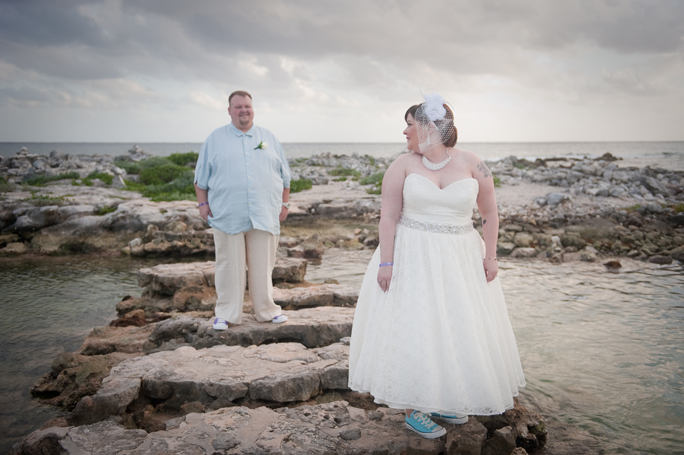 Yucatan Beach Wedding Photographs | Kate & Matt