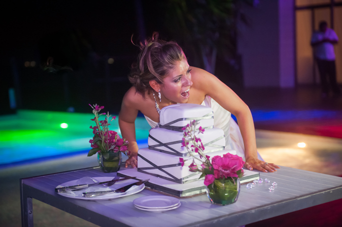 Grand Coral Beach Club Wedding Reception | Angelica & Daniel