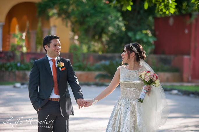 destination wedding portraits