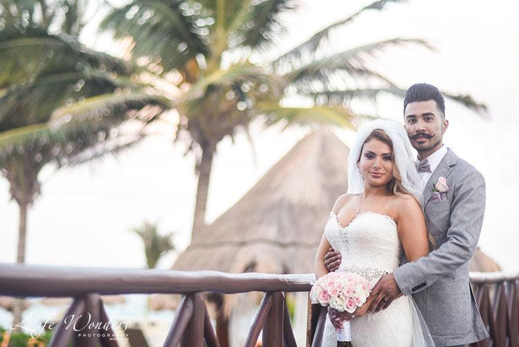 Cancun Wedding Portraits
