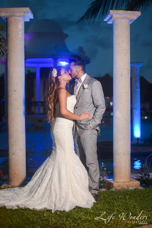 Wedding portrait in Now Sapphire Resort