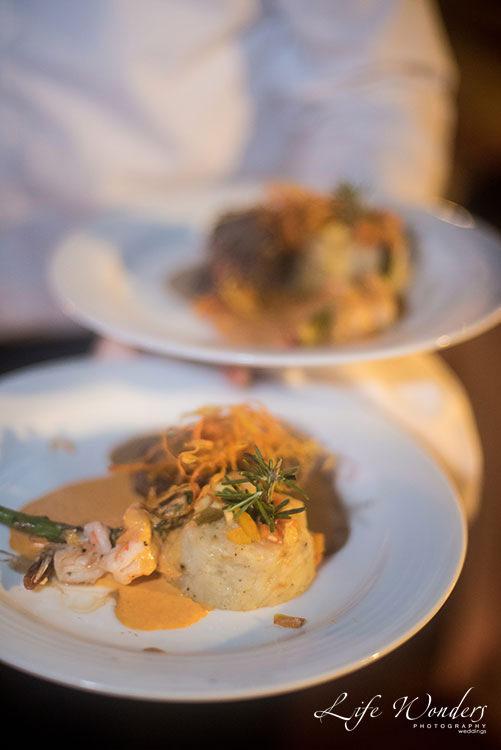 Wedding food in Now Sapphire Resort