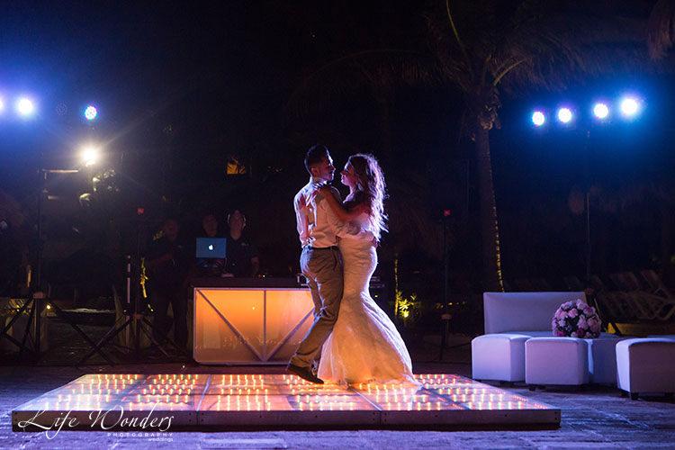 now sapphire cancun wedding reception