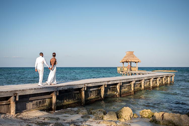 wedding in vidanta beach