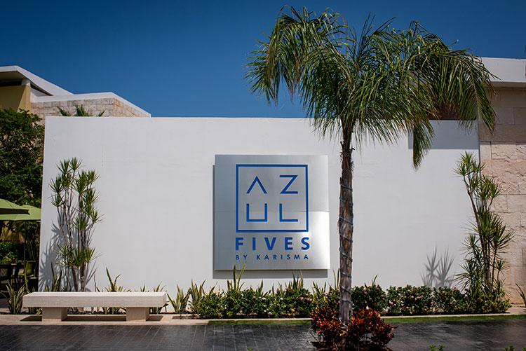 Azul Fives Cancun Wedding