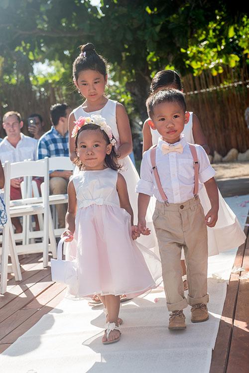 bride entrance - azul fives weddings