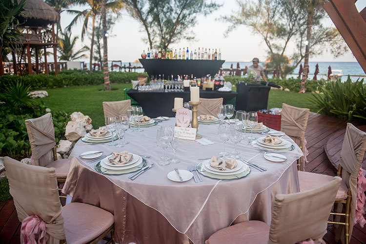 azul fives wedding reception