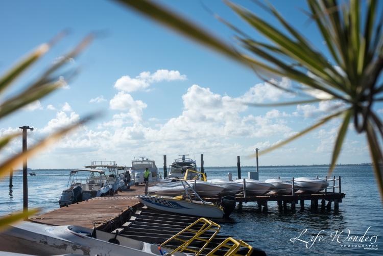 cancun yacht waterfront