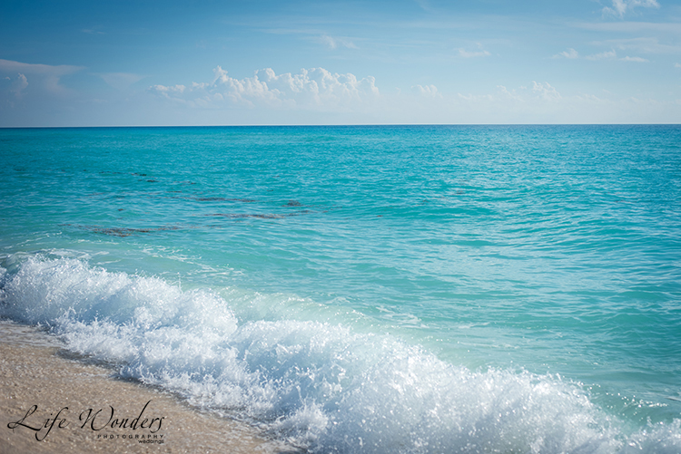 turquoise ocean color