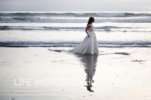 Heather – Trash the Dress Photo Shoot – (Leucadia, CA)