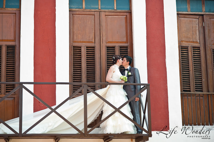 Destination wedding at Hacienda Temozon