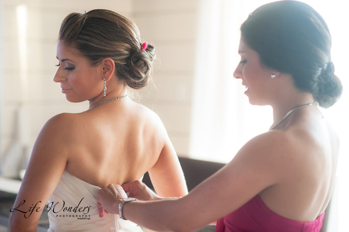 Grand Coral Beach Club Wedding - Getting Dressed | Angelica & Daniel