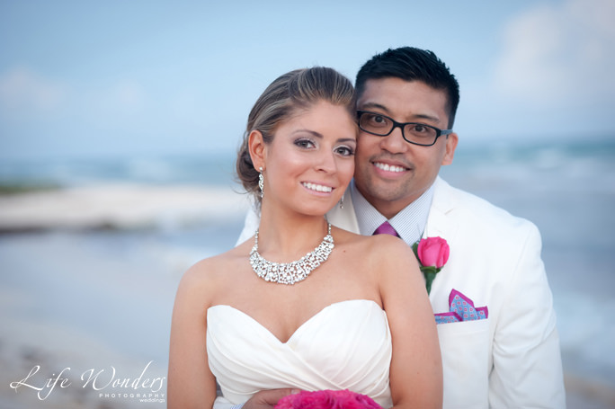 Grand Coral Beach Club Wedding Portraits| Angelica & Daniel