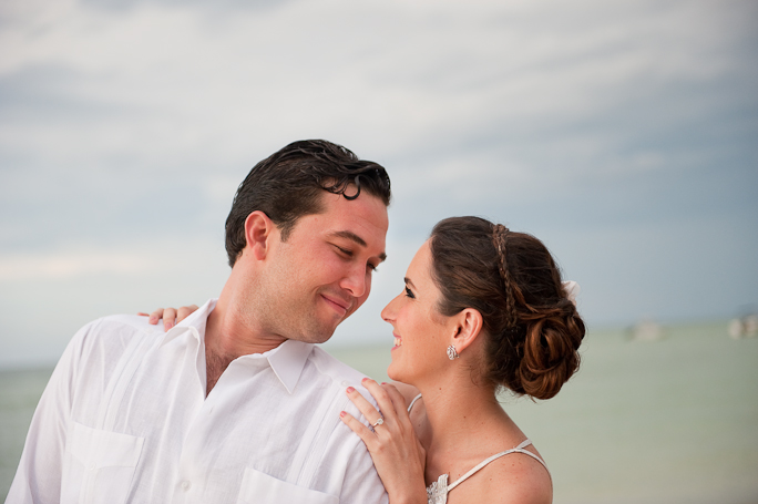 Progreso Beach Wedding Photographs | Caludina & Nicolas