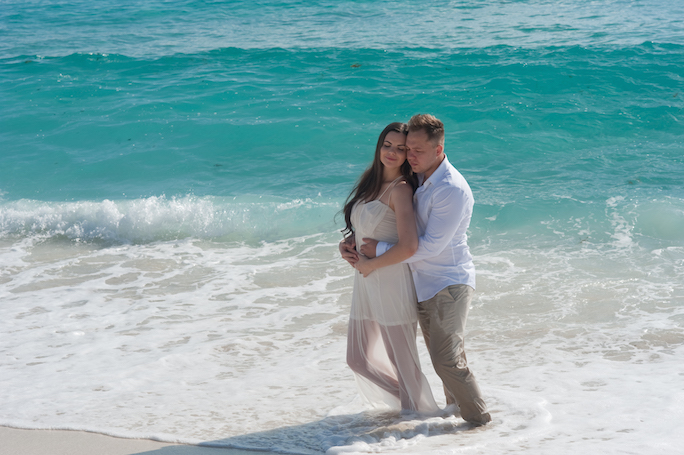 Trash the dress cancun