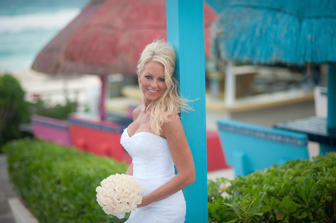 Grand Oasis Cancun Wedding Photographs | Tina & Eric