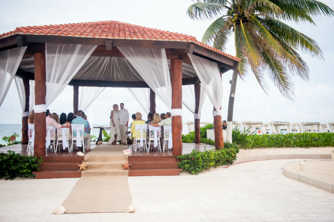 the royal playa del carmen wedding ceremony