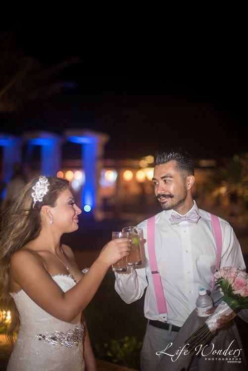 Wedding celebration in Now Sapphire Resort