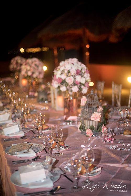 Wedding decoration in Now Sapphire Resort