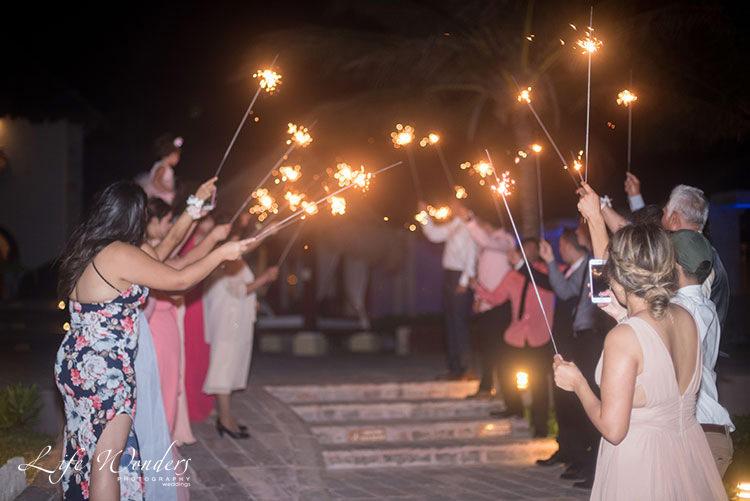 Wedding reception in Now Sapphire Resort