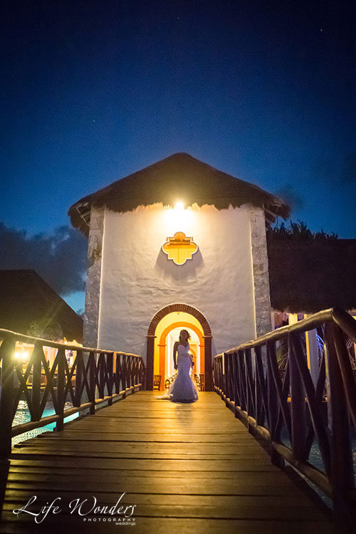 Bride in Now Sapphire Resort