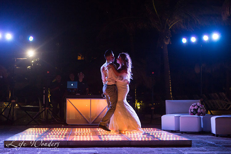 now sapphire cancun wedding reception