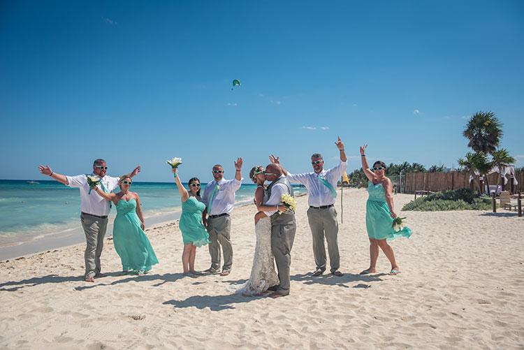 Wedding in the beach