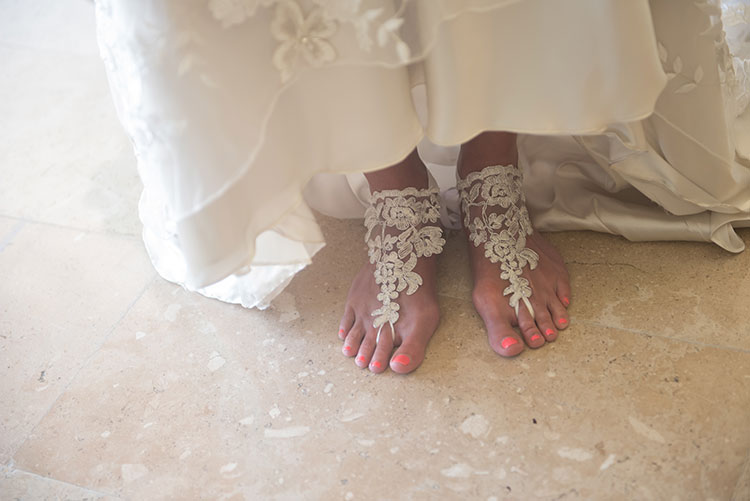 Bride footwear