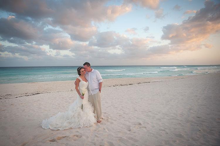 backdrop wedding photo