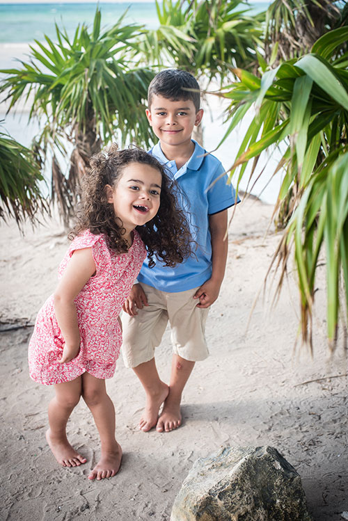 beach backdrop kids portrait