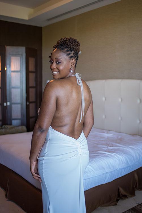Tamara ready for wedding