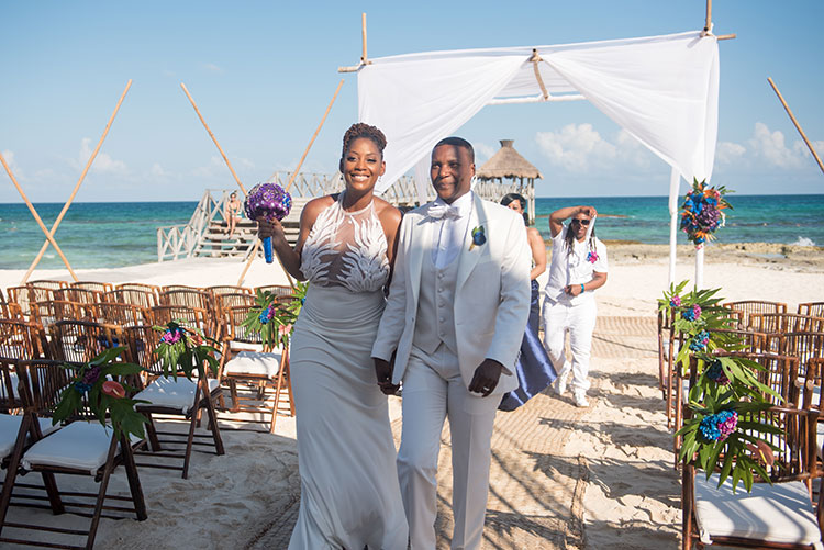 ceremony in riviera maya