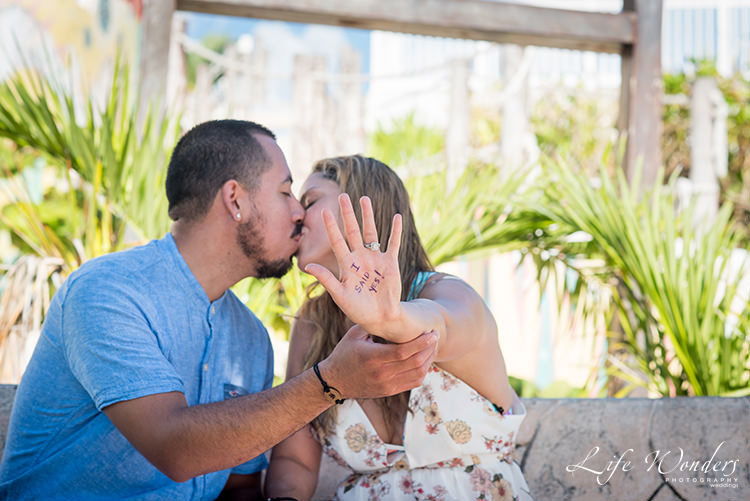 Picture Perfect Cancun Engagement Idea - Angie & Johnny