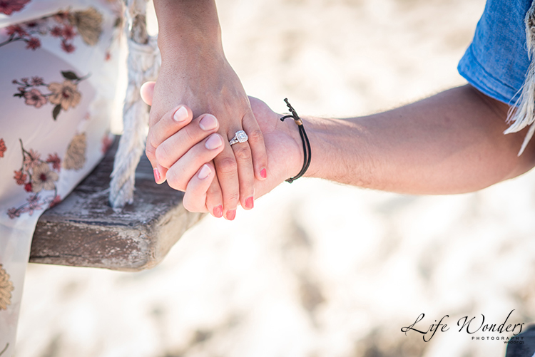 riviera maya engagement photography