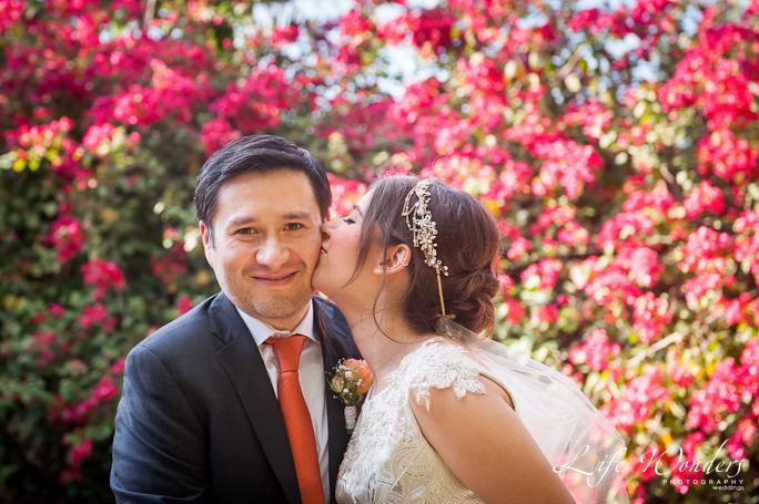 Hacienda Misne wedding portrait