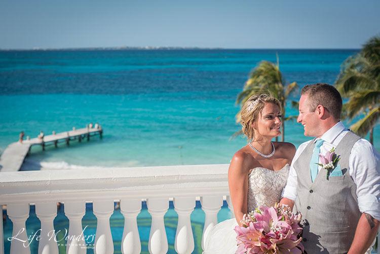 Jade wedding in Riu Cancun