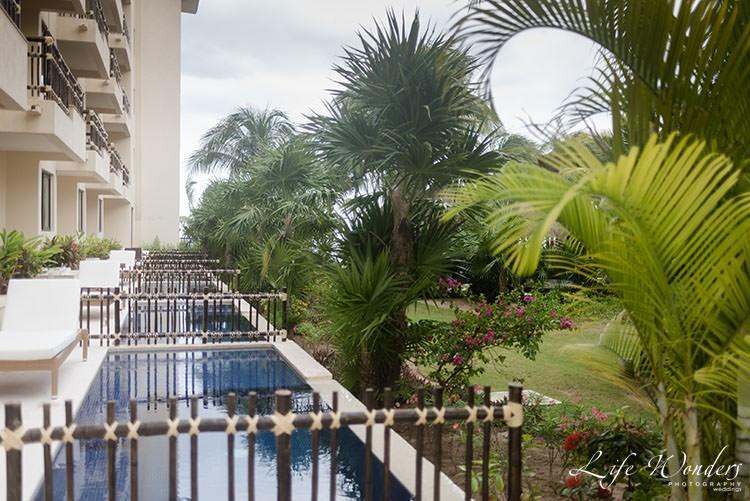 Dreams Riviera Maya hotel balcony