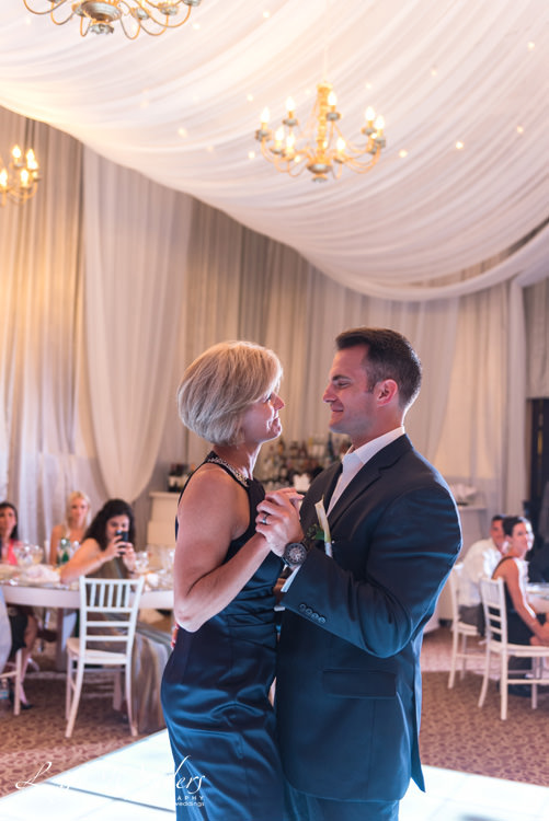groom and mother first wedding dance