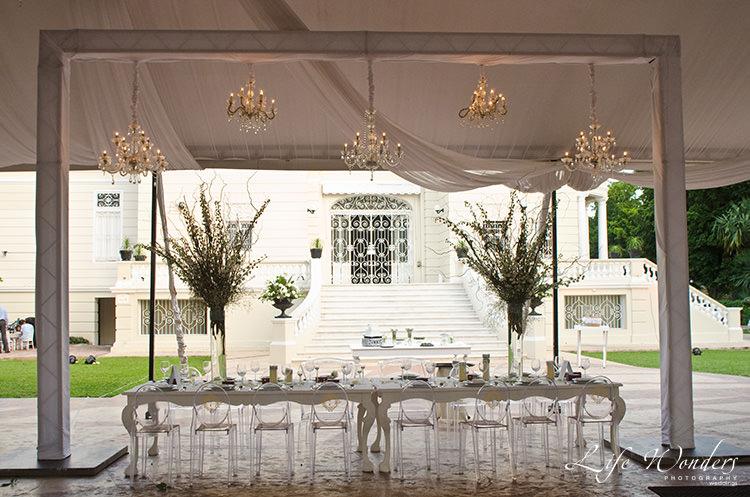 merida wedding reception decoration