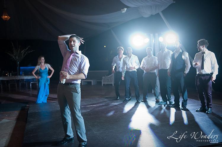 wedding reception photographs wedding garter toss