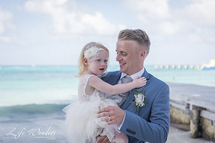riviera maya wedding photographer whole family