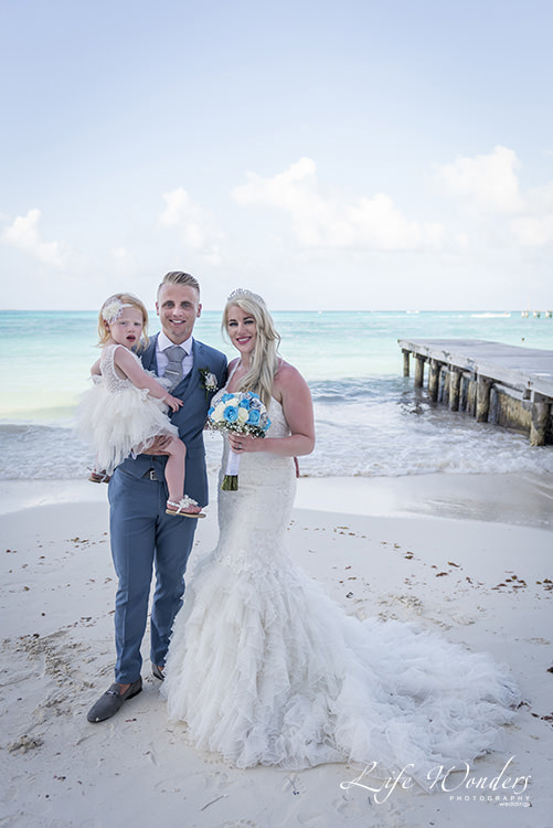 riviera maya wedding on the beach