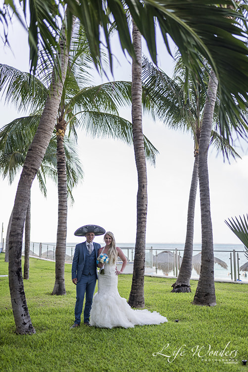 riu cancun wedding
