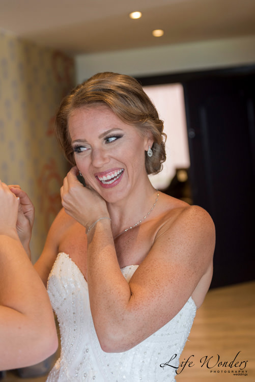 destination wedding photographer bride smiling