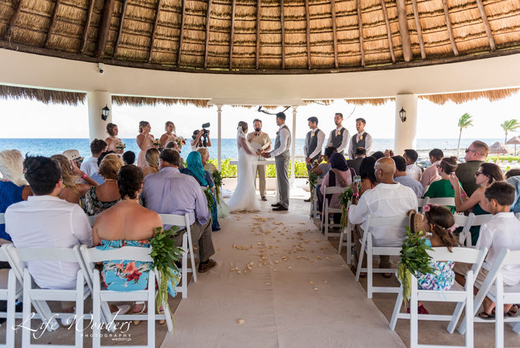 hard rock riviera maya wedding ceremony