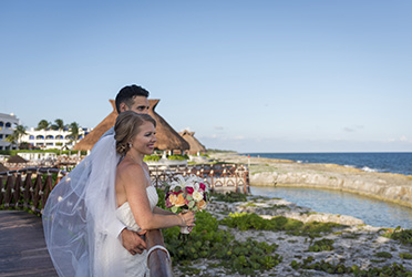 Fun Hard Rock Riviera Maya Wedding - Heather and Nadeem's Rocking Wedding