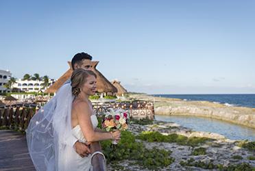 Fun Hard Rock Riviera Maya Wedding - Heather and Nadeem's Rocking Wedding
